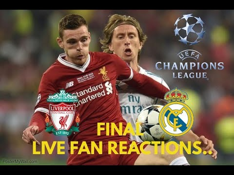 Liverpool Vs Real Madrid , Champions League Final 2018 LIVE Fan Reactions