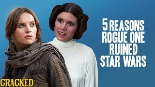 Video 5 Reasons Rogue One Ruined Star Wars - Reckless Disagreement (Tarkin, Princess Leia) MP3, 3GP, MP4, WEBM, AVI, FLV Oktober 2018