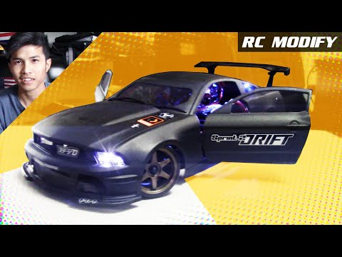 RC Modify 12 FORD Mustang On 1 10 HPI Sprint 2 Drift