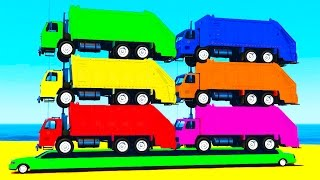 Color garbage truck on long carPrevious funny videos:McQueen Thomas trainhttps://youtu.be/qbzTa1zqrhwLEARN Numbers with Monster Truck https://youtu.be/Mq7kyakGm1kMcQueen Mack Truckhttps://youtu.be/8R6nfcLjbVYColor TRACTORShttps://youtu.be/KKeEiA8fhVoSport cars for childrenhttps://youtu.be/jQqcqnpDezECOLOR HELICOPTERhttps://youtu.be/zoSpZ6EowlY