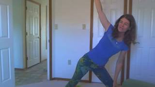 Yoga for unconditional Universal Love with Dr. Laurie Moore.www.animiracles.com.Combining the yin and yang, the feminine and the masculine.