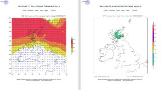 See the gales affecting the UK and Ireland through Christmas with snow over Scotland too.