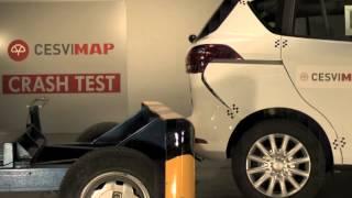Crash Test Ford B-MAX trasero en Cesvimap