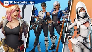10 Must Know Fortnite Tips