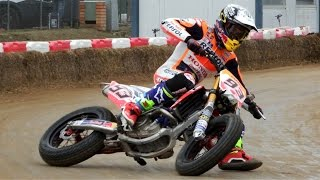 Video Marc Marquez & Brad Baker | Superprestigio Dirt Track 2016 Training Day Rufea by Jaume Soler MP3, 3GP, MP4, WEBM, AVI, FLV Juni 2018