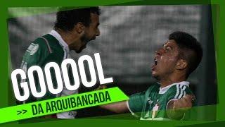 Confira o primeiro gol de Cristaldo com a camisa do Palmeiras, que garantiu a vitória do Verdão sobre o time de Santa Catarina.