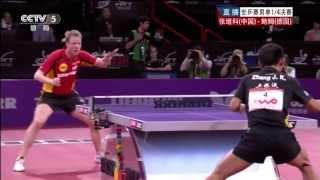 Table Tennis Highlights, Video - 2013 WTTC (ms-qf) ZHANG Jike - BAUM Patrick [HD] [Full Match/Chinese]
