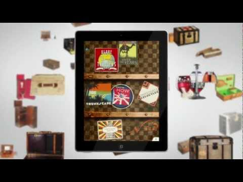 Louis Vuitton   100 Legendary Trunks iPad Application | Video