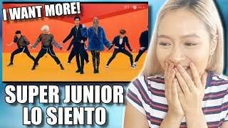 Video SUPER JUNIOR (슈퍼주니어) FT LESLIE GRACE 'LO SIENTO' MV REACTION MP3, 3GP, MP4, WEBM, AVI, FLV April 2018
