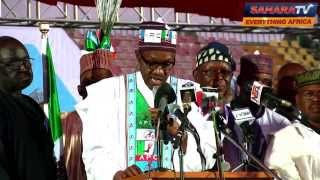 Muhammadu Buhari's Speech Of Acceptance On His Nomination As APC Presidential Candidate