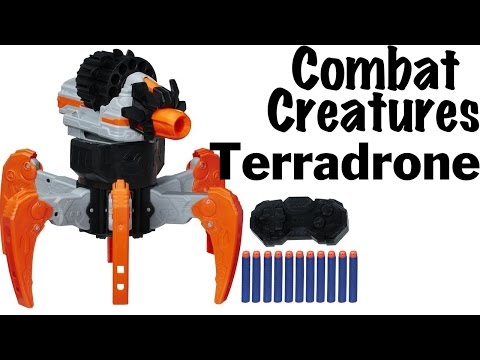 Nerf Combat Creatures Terradrone Unboxing and Review