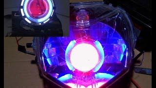 Video Cara Membuat lampu Ala Projie Angel Eye dari Senter LED MP3, 3GP, MP4, WEBM, AVI, FLV Desember 2018