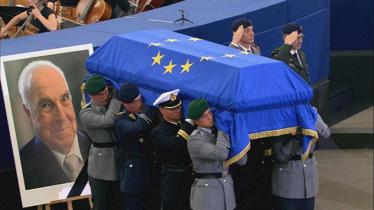 Η Ευρώπη αποχαιρετά τον Χέλμουτ Κολ