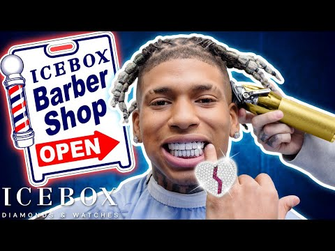 NLE Choppa Drops $100k While Getting Haircut at Icebox!