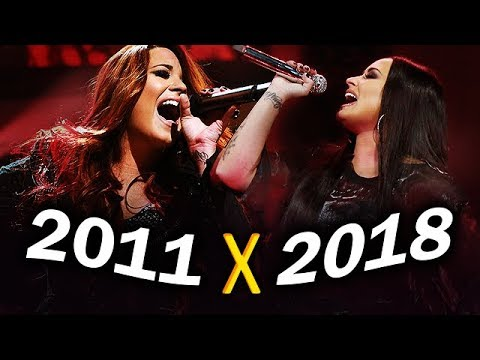 Demi Lovato - Attempting 'give Your Heart A Break' Big Note Live! (2011-2018)