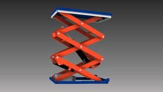 TMT 1500 med vertikale dobbel / trippel sakser