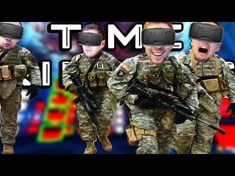 I'M A ONE MAN ARMY! | Time Rifters (Oculus Rift DK2)