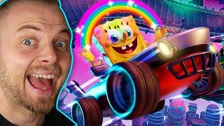 THE BEST RACING GAME! - Nickelodeon Kart Racers 2: Grand Prix!