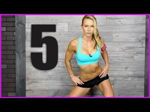 5 minute - If 5 minutes is all you have for a workout, then try to make it count and do this high intensity routine at least one time through. http://www.ZuzkaLight.com http://www.Facebook.com/ZuzkaLight.