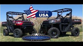 8. Polaris Ranger XP 1000 lift kit by Marshall Motoart 2018+ new body XP1000