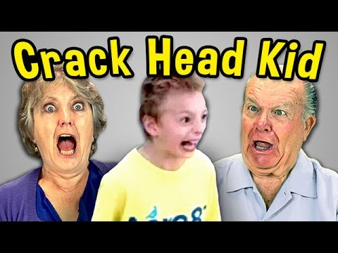 Elders React to Crack Head Kid