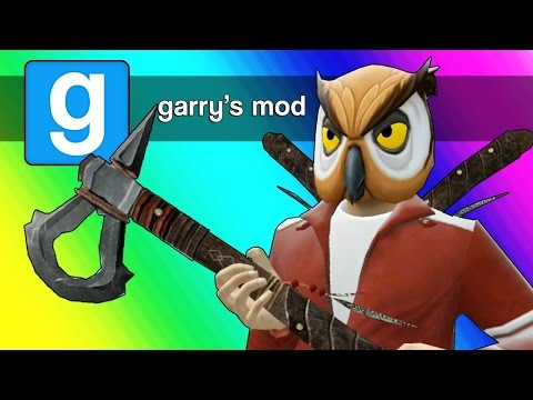Gmod Axe Roulette! (Garry's Mod Sandbox Funny Moments)