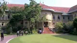 バンコク市内観光ウィマーンメーク宮殿