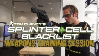Splinter Cell: Blacklist Weapons Training with Sam Fisher (Eric Johnson)