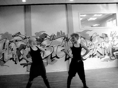 voguing и waacking танцуют Kaiti Dangerkat и Eva Schou