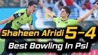 Video Shaheen Afridi Best Bowling 5 Wickets in PSL | Lahore Qalandars Vs Multan Sultans | HBL PSL 2018 MP3, 3GP, MP4, WEBM, AVI, FLV Maret 2018