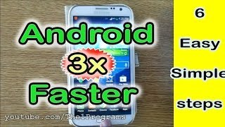 http://the1programs.blogspot.comIn this Tutorial Video I'll Show you 6 Ways about How to Make your Android 3x Faster Than Before By 6 Easy, Simple & Quick Steps to Get your Android Fast and New  Full HD.*Slow android device make me sick, I saw a lot of expensive android smartphones that is too slow, their owners thought that they have to buy new ones, but it's only simple, easy and fast steps to fix the slow problem for the android devices * A lot of people suffering from the slow of their android devices, but they don't know that just 6 simple and easy steps can fix the error and make their devices fast and new # Just follow my simple steps to fix this problem For any Android system For more Information, Click Here: http://tinyurl.com/android-stopped-error-fix@@ Having any problem .. Leave it on a Comment !______________________________________________# Please like if you like # Subscribe US HERE: http://www.youtube.com/subscription_center?add_user=the1programs# SMARTTICS on YouTube: http://www.youtube.com/the1programs# Facebook Page: http://goo.gl/tb4Xda# Blog: http://the1programs.blogspot.com______________________________________________tags: How to Make Android 3x Faster - 6 Simple, easy steps to make android fasts How to make android fastHow to fix the slow android phones and tapletsWays to Make Android Feel FasterTop speed teps to make android fasterHow to Make Your Android Faster in simple Stepsclean androidmake android new faster android devicesslow issue for android devicesHow to Make Android 3x Faster - 6 Simple, easy steps to make android fasts How to make android fastHow to fix the slow android phones and tapletsWays to Make Android Feel FasterTop speed teps to make android fasterHow to Make Your Android Faster in simple Stepsclean androidmake android new faster android devicesslow issue for android deviceshow to Fix android errorhow to Fix android errorhow to Fix android problemhow to Fix android problemFix Samsung Galaxy error fix android error tutorial speed up androidincrease android speedspeed up androidincrease android speedandroidfastfatserhow totutorialandroid tetherapp marketapp storeandroid programmingandroid softwareandroid freewareandroid file managerandroid 2.1google marketandroid versionsappsandroid 2android padandroid platformfree android gamesandroid gamesnew androidtmobile androidandroid devicegoogle mobilegoogle callandroid activitylg androidandroidmarketcva symptomsandroid featureswhat is a androidandroid xandroid gpsandroid source codeandroid motorolaandroid how toandroid linuxmotorola androidandroid eclaircom tutorialandroid 2.0android 2.4paragonfasterwhy androidfast gamestablettablet pcandroid priceanroidjuice cleansefast and furious 5aplicaciones androidbuy androidandroid tabi need moneycolonjuice dietadroid marketandroideneed cashandroid technologyfuel injectorneed moneyandroid 1.6android shopdual sim androidfasteandroid netbooksymbian appsfuel injectorsspeedfast mathhow to get money fastabout androidfast fuel systemsneed money fastfast shopi need money fastandroid markestrokアンドロイド アプリsigns and symptoms of cvacustomize your androidfast injectionmoving quicklysrokegoogleplay for androiddefine signs and symptomsfree android devicesandroid handsetspad android구글앱스define innovation in businesseffects in after effectshow do you do your hairandroid marketandroid app marketandroid market downloadandroid market placemarket androiddownload android marketandroid market appsandroid apps marketandroid market websiteandroid market searchandroid market tabletbest android phonebest android phonesthe best android phonethe best phone apps for androidwhat are the best apps for android phonebest apps for an android phonewhat is the best phone app for androidthe best apps for android phoneandroid developmentandroid developerandroid application developmentandroid app developersdevelopers for androiddeveloper androidbest android app development companiesbest android developersandroid apps for developersandroid apps developersbest android apps for developersandroid updateandroid jelly bean update newshow to update an android appupdate for android phonehow to update your android to jelly beanhow do i update apps on android phoneandroid samsungsamsung android phonessamsung galaxysamsung android phonebest android tabletthe best android tabletbest apps for a tabletwhat is best android tablettablet with best appsthe best apps for android tabletthe best tablet appsandroid app storeapp store androidandroid apps storeandroid application store