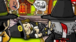 HOW CAN I TRUST ANYONE HERE!? - TOWN OF SALEM MURDER MYSTERY WITH FRIENDS!
