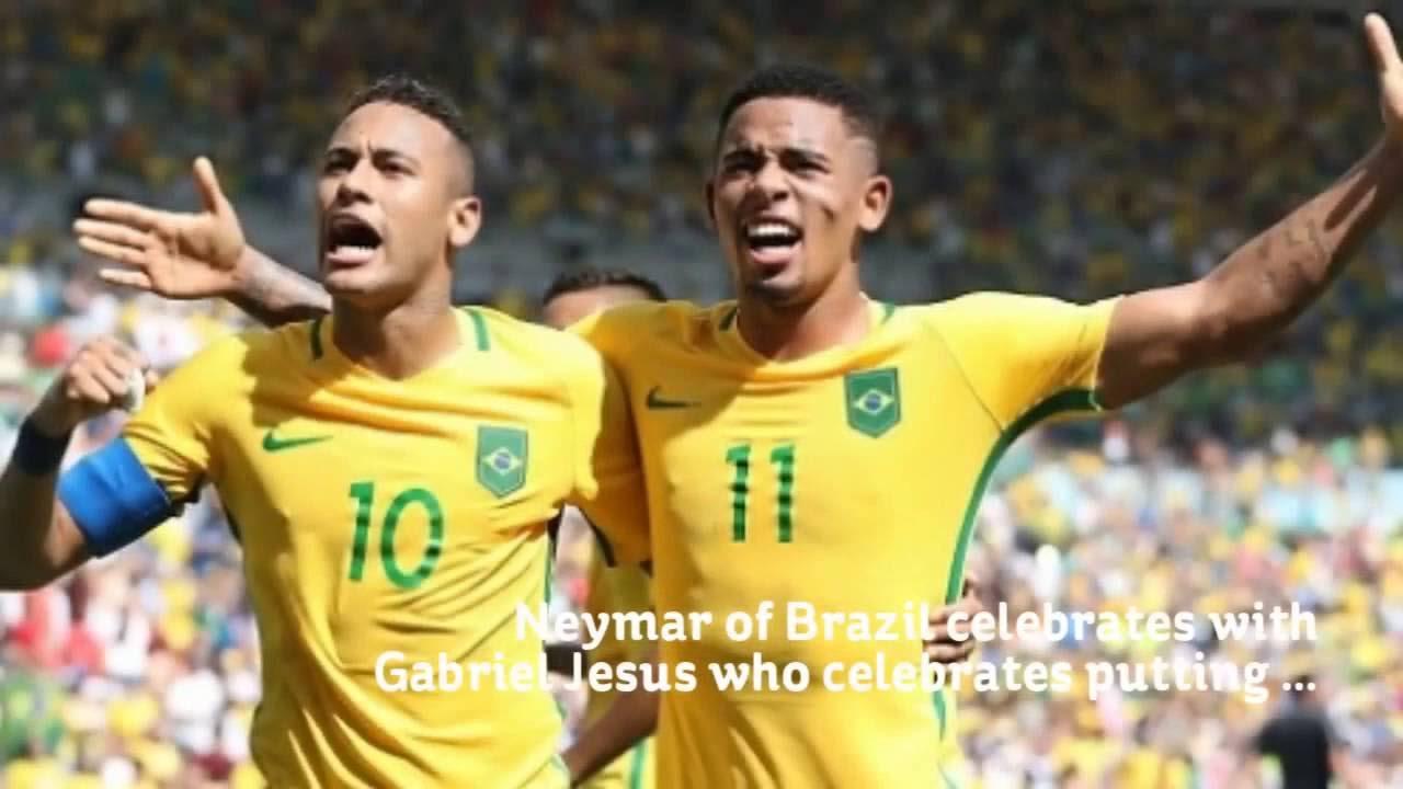 Brazil vs Honduras Highlights  Rio Olympics 2016 (Men's)