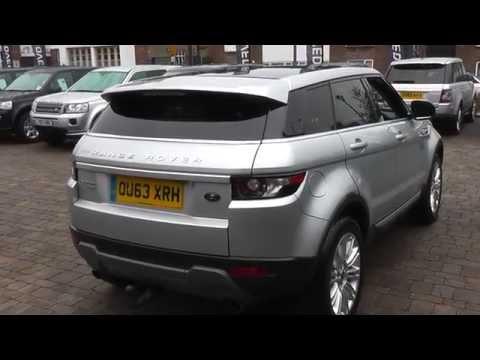 Beadles Indus Silver 2013 Land Rover Range Rover Evoque Prestige Lux 2.2l
