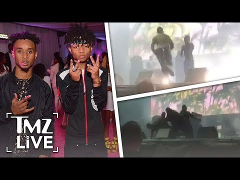 Rae Sremmurd Fan Crushed By Security! | TMZ Live