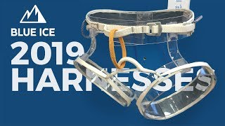 Blue Ice 2019 Climbing Harnesses - Addax, Choucas Pro, Choucas by WeighMyRack
