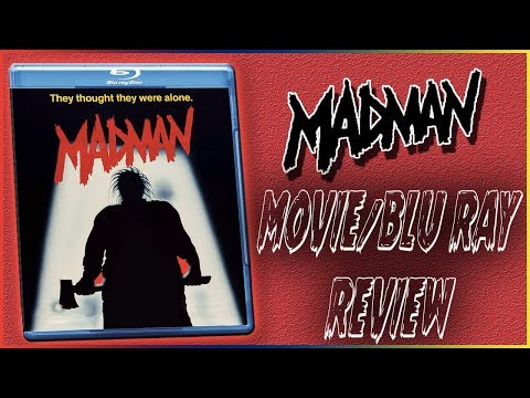 Madman Movie/Blu Ray Review Vinegar Syndrome || Christian Hanna Horror