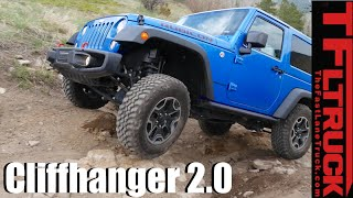 Jeep Wrangler Rubicon vs Sport vs Renegade vs Cliffhanger 2.0 Extreme Off-Road Mashup Review by The Fast Lane Truck