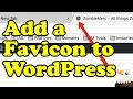 Download Lagu How to ADD A FAVICON to WordPress Mp3 Free