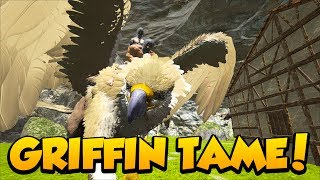 MY FIRST GRIFFIN TAME on RAGNAROK!- Ark Survival Evolved Primitive+ Modded PVE on Ragnarok #1