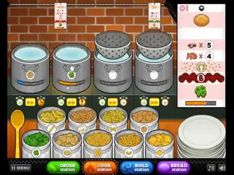 Play Papa's Pasteria - Cook The Best Noodles  | Play Game At Friv 4 Game