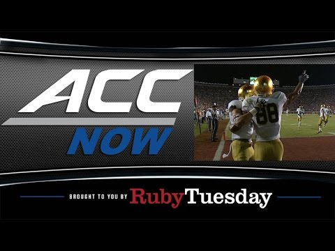 Dame - The ACC's coordinator of football officials, Doug Rhoads, explains why offensive pass interference was called against the Irish in the final seconds of Florida State's victory Saturday...