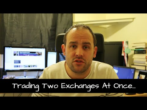 Trading Two Exchanges At Once