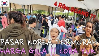 Download Video [Vlog di Korea ] Harga Gila Pasar Termurah di Korea - 8pcs Celana cuman 30ribu rupiah 한강공원 Shopping MP3 3GP MP4
