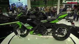 9. 2017 Kawasaki Ninja 650 First View | Tech Specs and Details