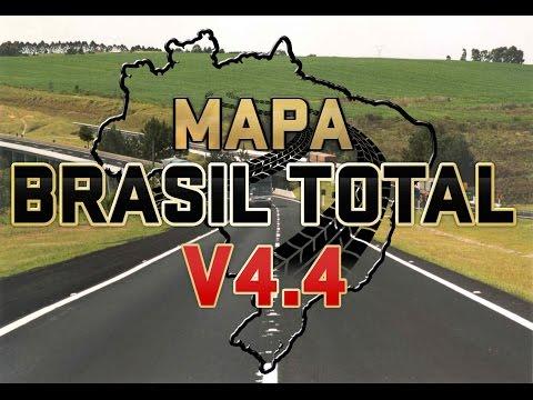 Brazil Map  4.4