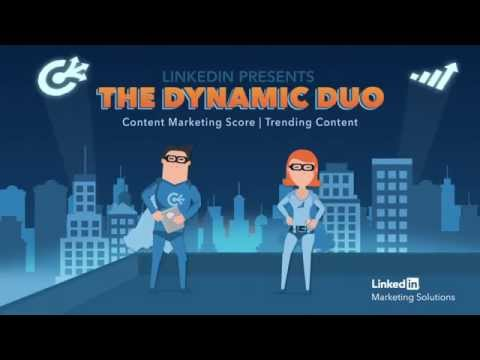 Introducing the LinkedIn Content Marketing Score and Trending Content