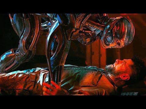 Ultron Cuts Off Klaw's Arm Scene - Avengers: Age of Ultron (2015) Movie CLIP HD