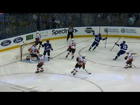 Video: Point beats Smith with pinpoint shot, ties game for Lightning