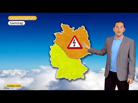 Вие вирд дас Веттер Дие актаелле веттер.ком 3-Тагес Ворхерсаге (21.07.2017)